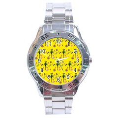 Aloha   Summer Fun 2b Stainless Steel Analogue Watch