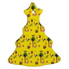 Aloha   Summer Fun 2b Ornament (christmas Tree)