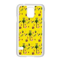 Aloha   Summer Fun 2b Samsung Galaxy S5 Case (white)