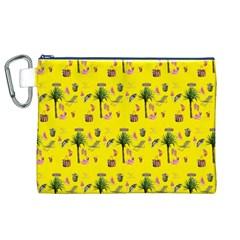 Aloha   Summer Fun 2b Canvas Cosmetic Bag (xl)
