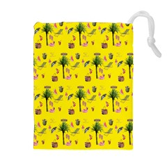 Aloha   Summer Fun 2b Drawstring Pouches (extra Large)
