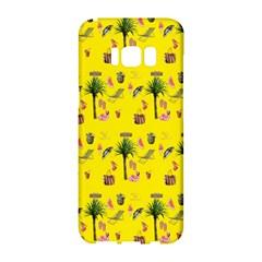 Aloha   Summer Fun 2b Samsung Galaxy S8 Hardshell Case