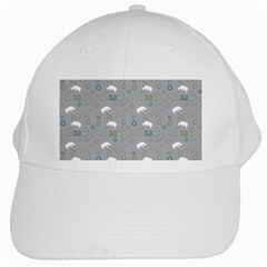 Shave Our Rhinos Animals Monster White Cap