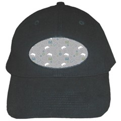 Shave Our Rhinos Animals Monster Black Cap