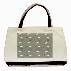 Shave Our Rhinos Animals Monster Basic Tote Bag (two Sides)