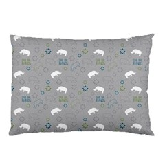 Shave Our Rhinos Animals Monster Pillow Case (two Sides)