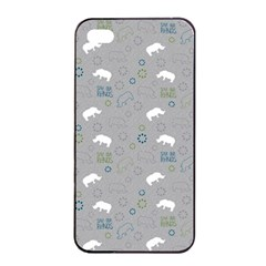 Shave Our Rhinos Animals Monster Apple Iphone 4/4s Seamless Case (black)