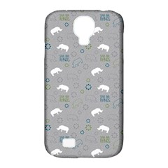 Shave Our Rhinos Animals Monster Samsung Galaxy S4 Classic Hardshell Case (pc+silicone)