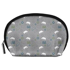 Shave Our Rhinos Animals Monster Accessory Pouches (large)