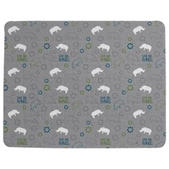 Shave Our Rhinos Animals Monster Jigsaw Puzzle Photo Stand (rectangular)