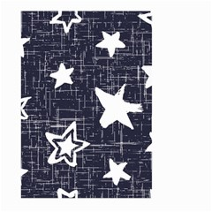 Star Space Line Blue Art Cute Kids Large Garden Flag (two Sides)