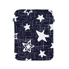 Star Space Line Blue Art Cute Kids Apple Ipad 2/3/4 Protective Soft Cases