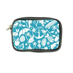 Summer Icons Toss Pattern Coin Purse