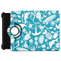 Summer Icons Toss Pattern Kindle Fire Hd 7