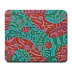 Recursive Coupled Turing Pattern Red Blue Large Mousepads