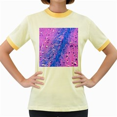 The Luxol Fast Blue Myelin Stain Women s Fitted Ringer T Shirts