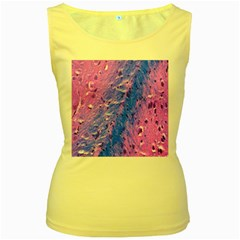 The Luxol Fast Blue Myelin Stain Women s Yellow Tank Top