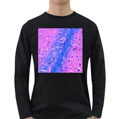 The Luxol Fast Blue Myelin Stain Long Sleeve Dark T Shirts