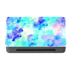 Transparent Colorful Rainbow Blue Paint Sky Memory Card Reader With Cf