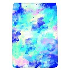 Transparent Colorful Rainbow Blue Paint Sky Flap Covers (l)