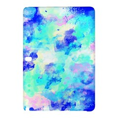 Transparent Colorful Rainbow Blue Paint Sky Samsung Galaxy Tab Pro 10 1 Hardshell Case