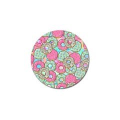 Donuts Pattern Golf Ball Marker