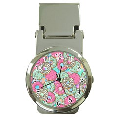 Donuts Pattern Money Clip Watches
