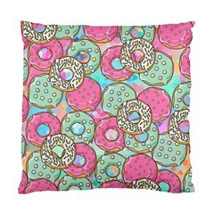 Donuts Pattern Standard Cushion Case (one Side)