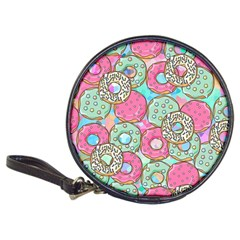Donuts Pattern Classic 20 Cd Wallets