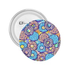 Donuts Pattern 2 25  Buttons