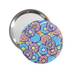 Donuts Pattern 2 25  Handbag Mirrors