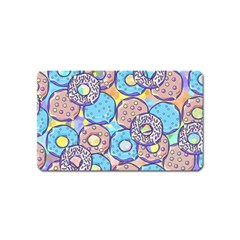 Donuts Pattern Magnet (name Card)