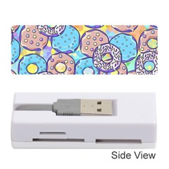 Donuts Pattern Memory Card Reader (stick)
