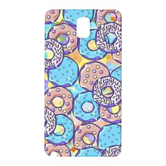 Donuts Pattern Samsung Galaxy Note 3 N9005 Hardshell Back Case
