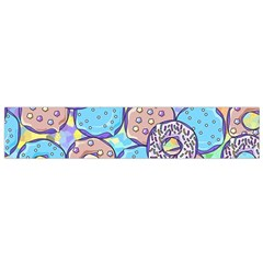 Donuts Pattern Flano Scarf (small)