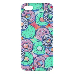 Donuts Pattern Apple Iphone 5 Premium Hardshell Case