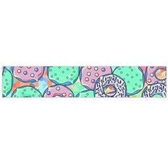 Donuts Pattern Flano Scarf (large)