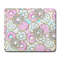 Donuts Pattern Large Mousepads