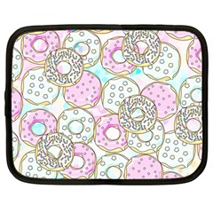 Donuts Pattern Netbook Case (large)