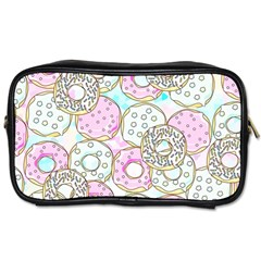 Donuts Pattern Toiletries Bags 2 Side