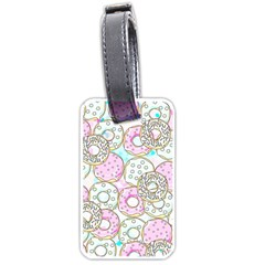 Donuts Pattern Luggage Tags (one Side)