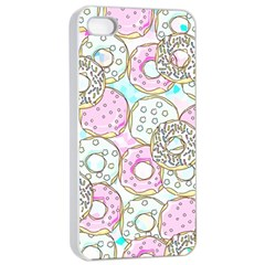 Donuts Pattern Apple Iphone 4/4s Seamless Case (white)