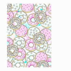 Donuts Pattern Small Garden Flag (two Sides)