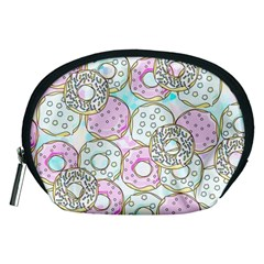 Donuts Pattern Accessory Pouches (medium)