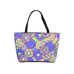 Donuts Pattern Shoulder Handbags