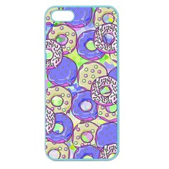 Donuts Pattern Apple Seamless Iphone 5 Case (color)