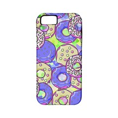 Donuts Pattern Apple Iphone 5 Classic Hardshell Case (pc+silicone)