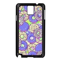 Donuts Pattern Samsung Galaxy Note 3 N9005 Case (black)