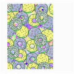 Donuts Pattern Large Garden Flag (two Sides)