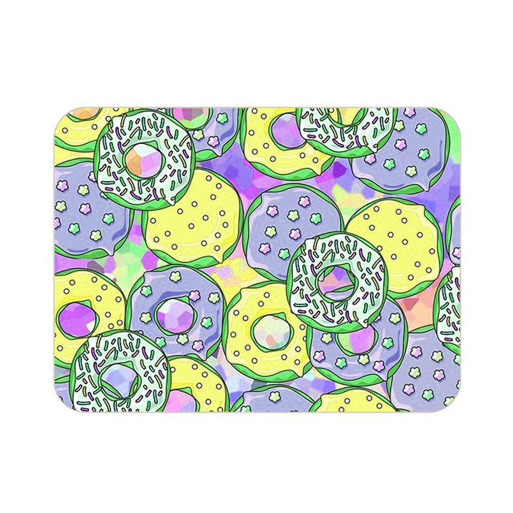 Donuts pattern Double Sided Flano Blanket (Mini)